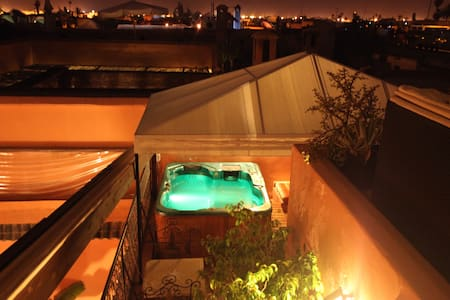 break romantique riad el grably - Marrakesh - Bed & Breakfast