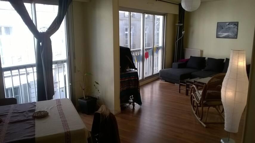 Bel appartement chaleureux - Nantes - Byt