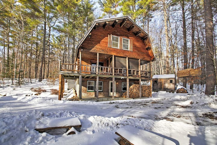 'Treehouse' 4BR Madison Cabin-Great Views! - Madison