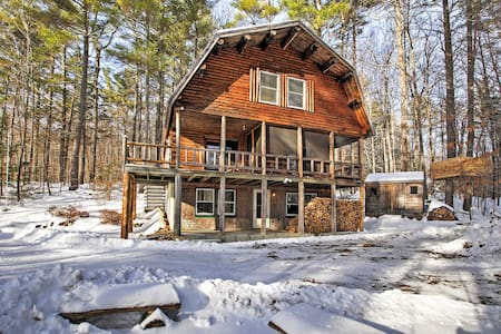 'Treehouse' 4BR Madison Cabin-Great Views! - Madison - Blockhütte