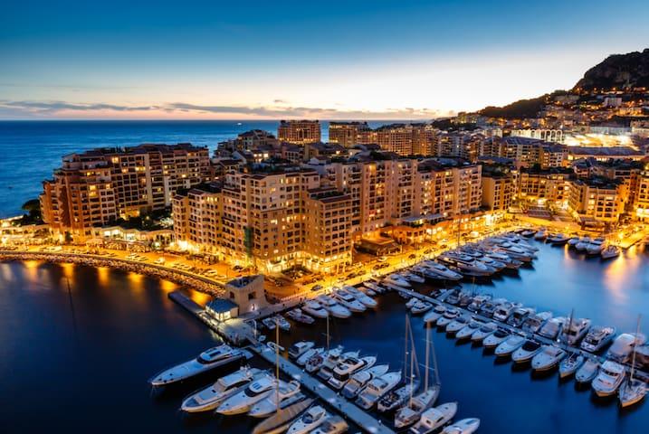 Luxury one bedroom seafront apartment in Monaco