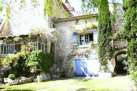 Authentic old provencal house - Orgon
