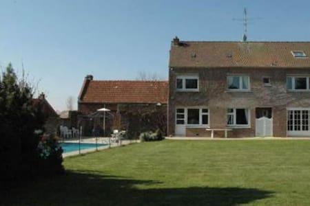 Villa avec piscine chauffée CAMBRAI - Cambrai - Seranvillers-Forenville - Oda + Kahvaltı
