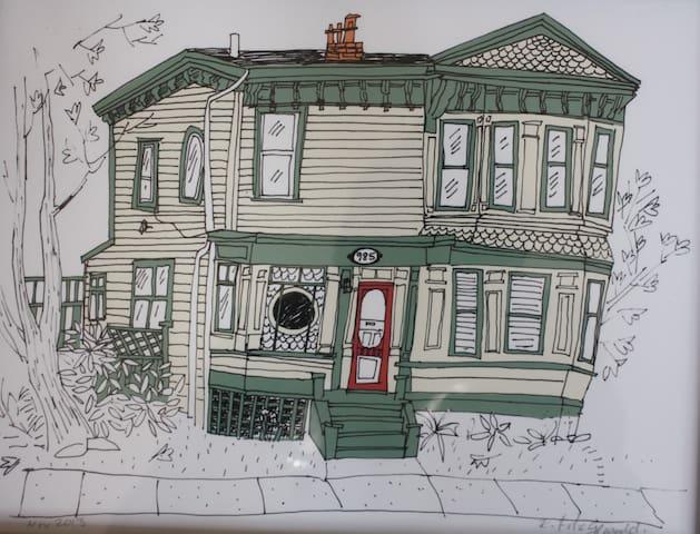 Victorian townhouse walk downtown - Halifax - Apartment