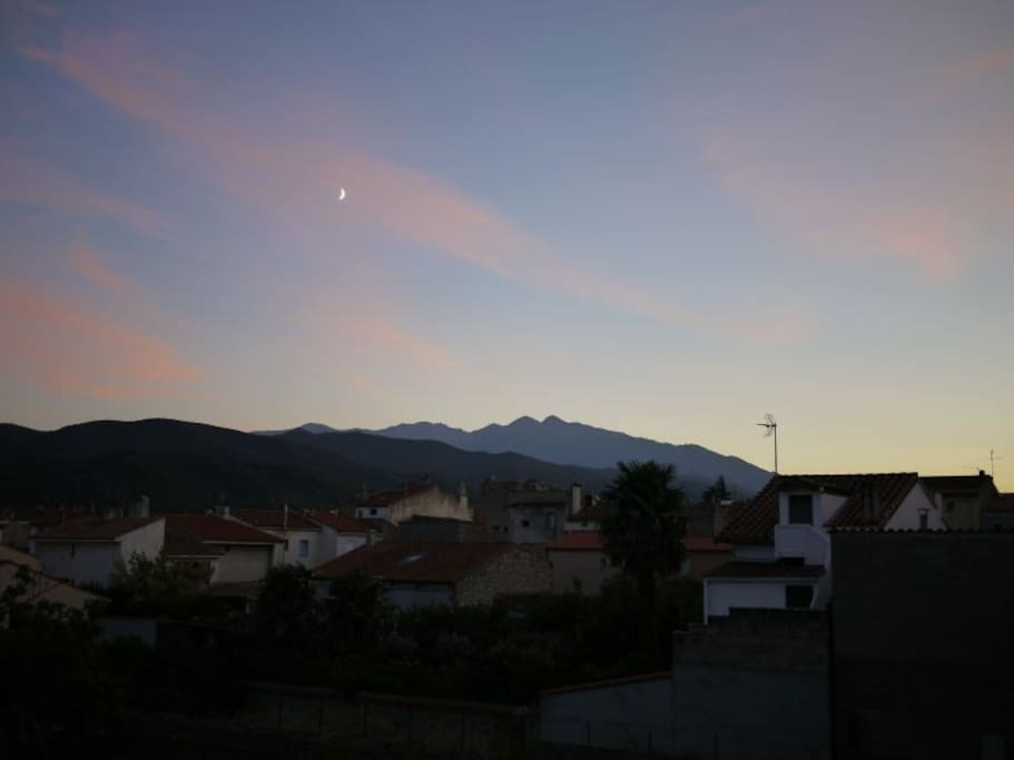 The View of Canigou