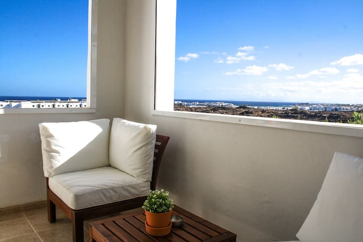 Apartment Los Claveles | A beautiful seaview home  with spectacular sunsets