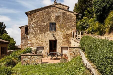 Il Castagno  FORNO - Gambassi Terme - Lägenhet