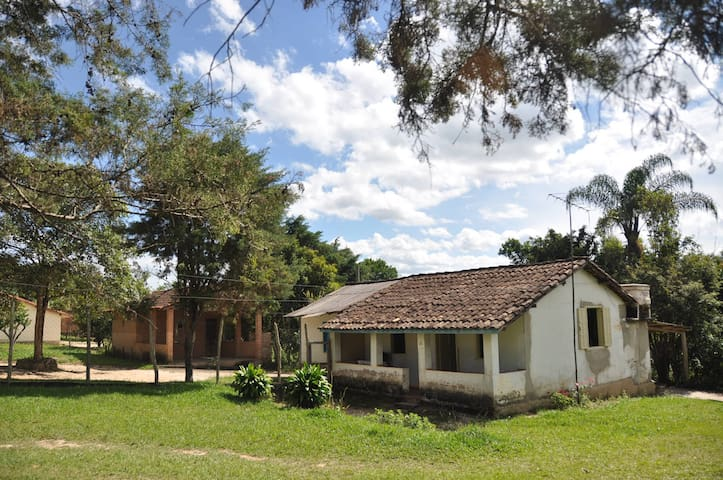 Sítio Sabarabuçu - Soares - OP - MG - Ouro Preto - Houten huisje