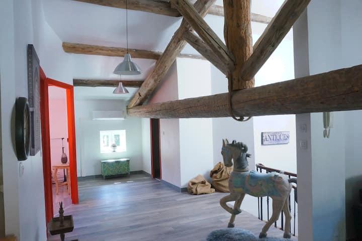 Annexe - Loft de 100 m²  - 2 chambres