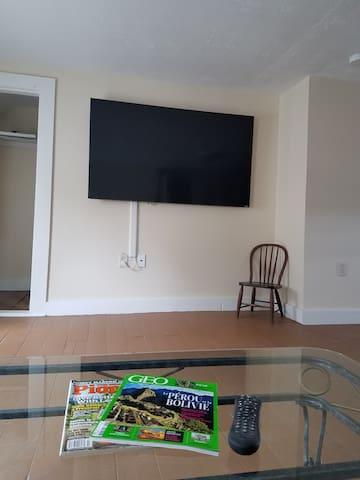 Bunk bed room TV