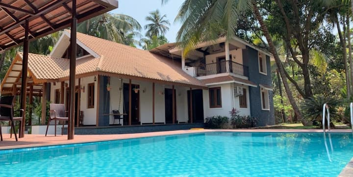 Colonial styled Villa with a Private POOL & MACHAN