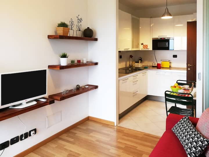 LAMBRATE  Cozy and bright apartment