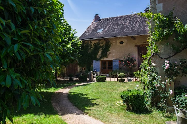 Charming cottage, South Burgundy, near Cluny - Saint-Marcelin-de-Cray - Talo