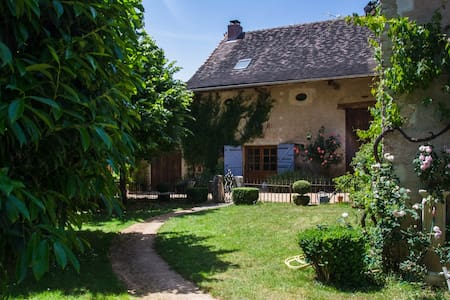 Charming cottage, South Burgundy, near Cluny - Saint-Marcelin-de-Cray - Rumah