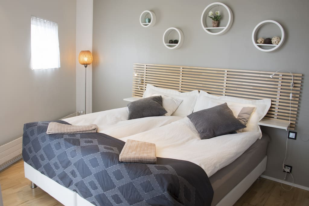Luxury bedding to ensure a good night sleep