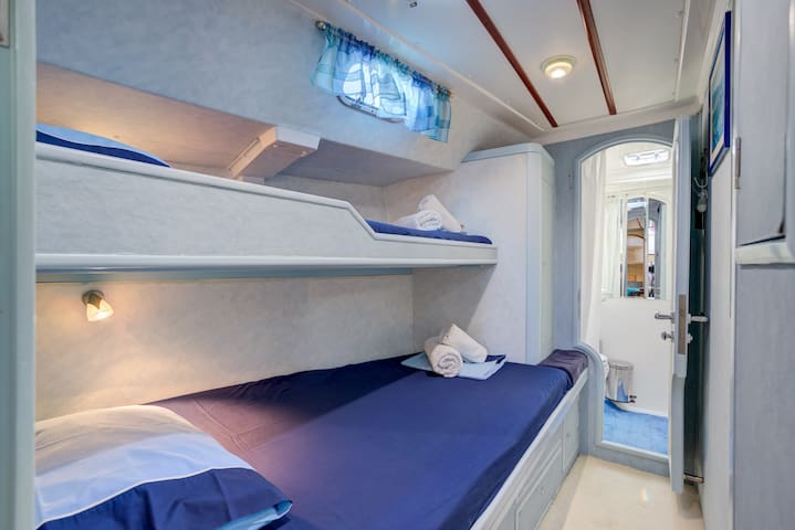 Mykonos Cabin room in luxury yacht