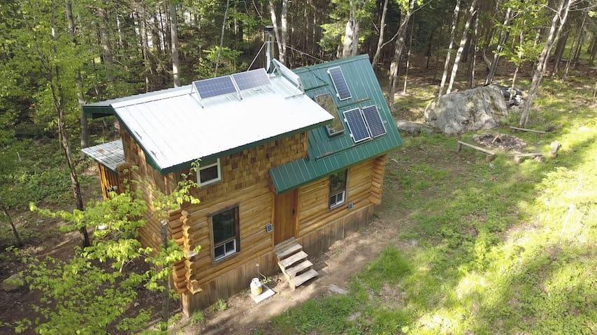 The Singin Ranger's Rustic Hand-Built Log Cabin!