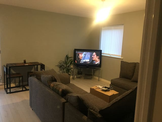 Double En suite room in City Centre flat