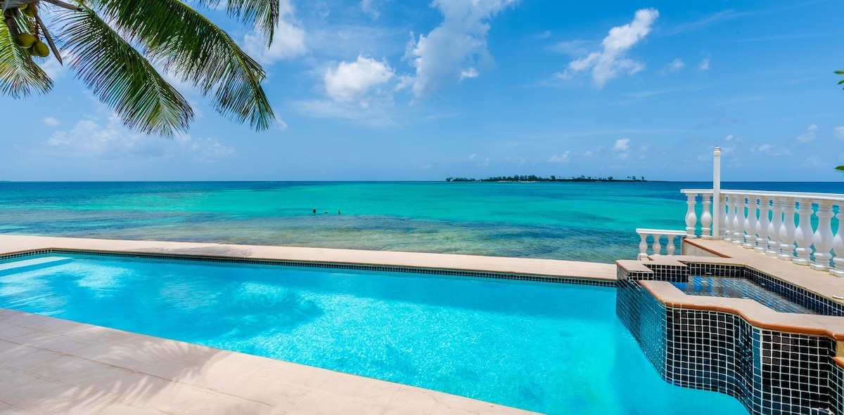 View from your own private beach side