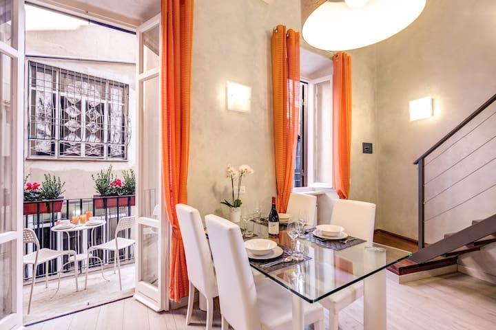 Deluxe Apartment with balcony - Split Level