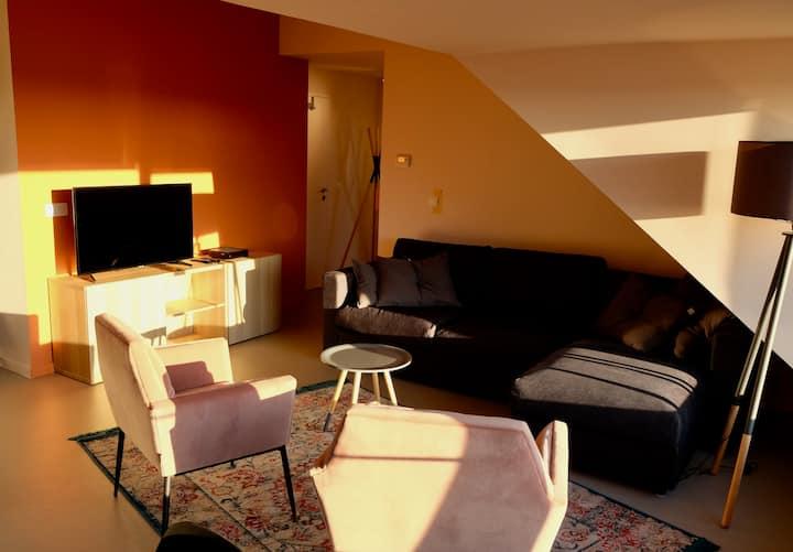 Halledet-Apartment-Superior-Private Bathroom-Garden View