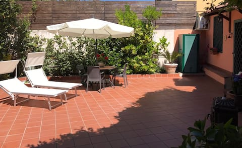 Maison douce avec jardin privé