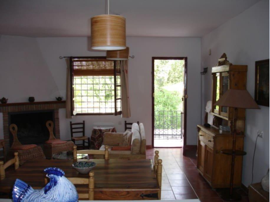 Parte de entrada al salón