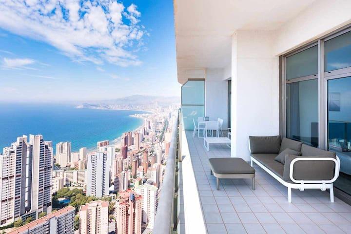 Benidorm High Apartments - Luxury - Étage 41 - Torre Lugano