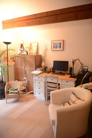 Charmante petite maison de 90m2 à Uccle - Uccle - Ev