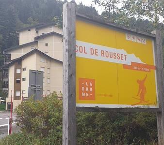 F2 la station Col de Rousset  Chez Alex et Éric