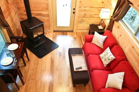 Grey Fox Getaway/Happy Fox Hollow - Brevard - Kisház