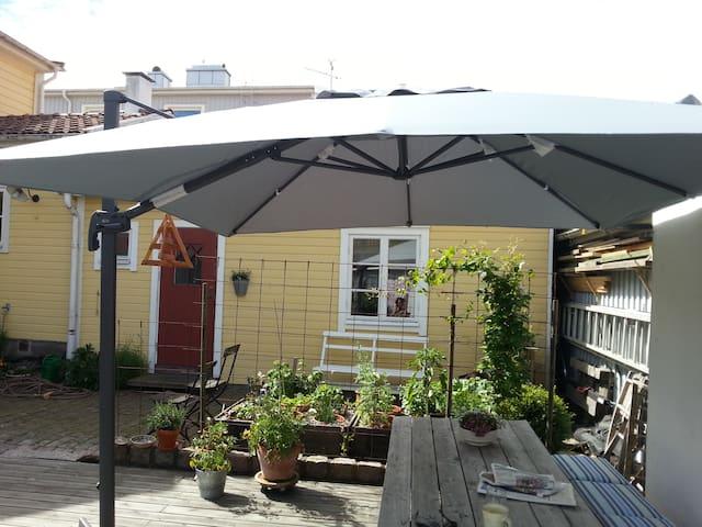Björkholms stuga i världsarv Karlskrona
