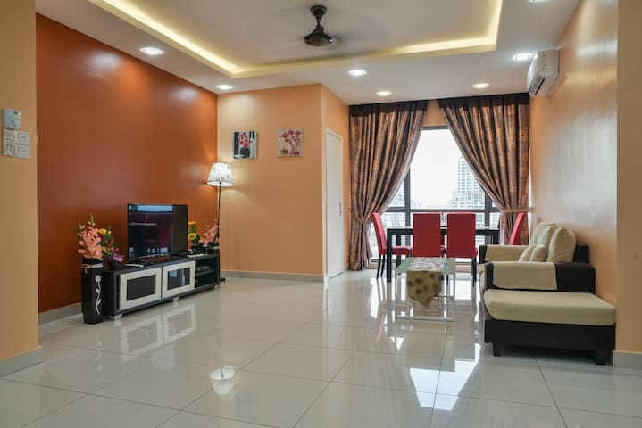 Cozy Family Suite ♠ 3BR♠ 5PAX♠ near Sunway Pyramid