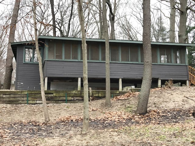 Hemlock House- river side