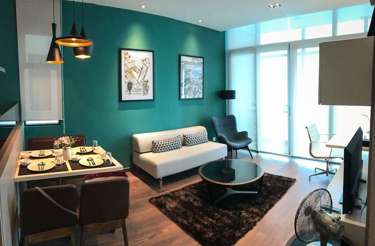 【2BR‖CITY‖SEAVIEW】SHOPPING MALL & WATERFRONT +WiFi