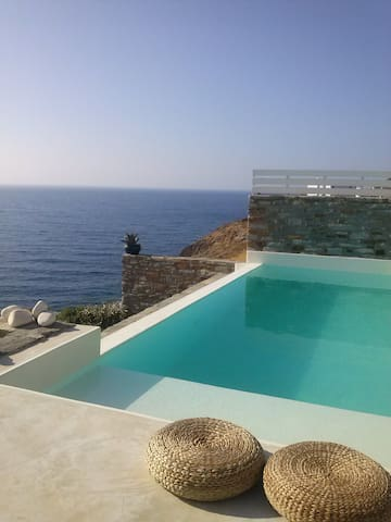 Unique stylish villa @ Kea (Tzia) island, Cyclades - Melissaki
