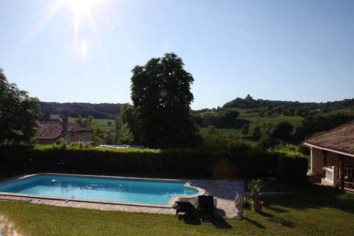 Luxe 2 pers.huis in Zuid Frankrijk. - Castelnau-Montratier - Huis