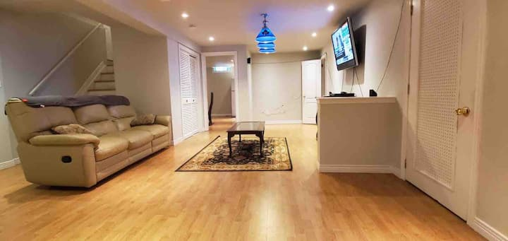 Spacious Private Basement Apartment