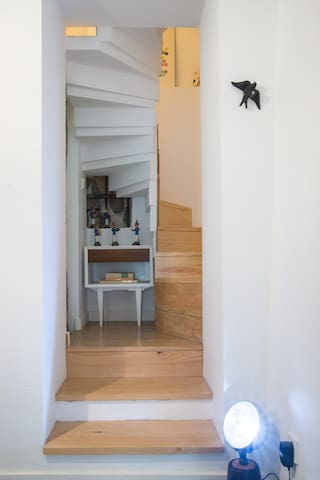 Stairs for the bedroom