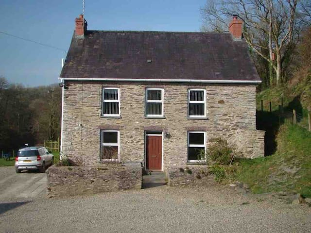 Troedyrhiw Farmhouse Bed & Breakfast near Cardigan