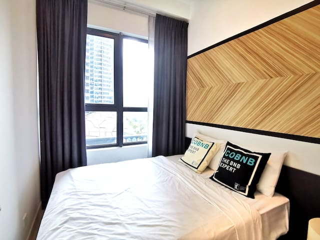 Modern Private Bedroom WIFI near KLCC  #NATP206a2