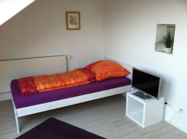Schönes Zimmer mit Albblick