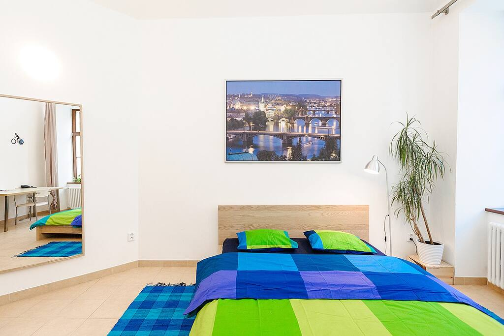 Blue dream- bright apartment