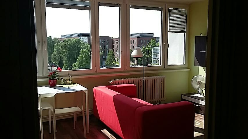 Cozy and bright flat 10 minutes to the city centre