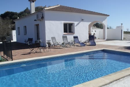 Stunning 3 Bedroom Villa with Pool - Comares