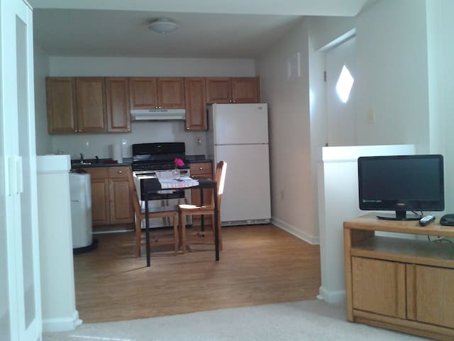 Efficiency Apt near Goddard, UMD - Greenbelt - Daire