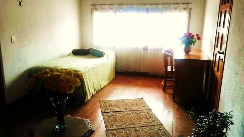 Additional bedroom with two twins or twin and double futon available for additional fee.