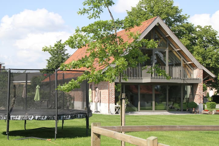Charming totaly renovated farmhouse - 19 persons - Zwevegem - House