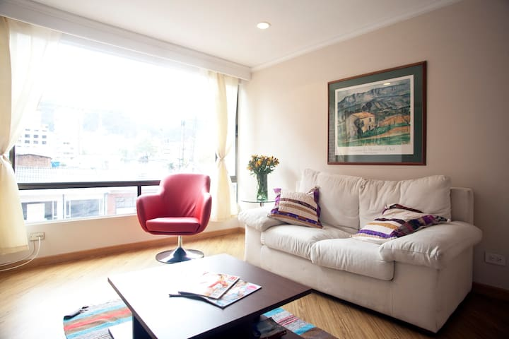 Amazing location!  Apartment Zona T - Bogota