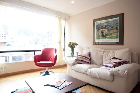 Amazing location!  Apartment Zona T - Bogotá - Huoneisto